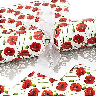10 große hübsche Mohncracker - Machen und füllen Sie Ihr eigenes Kit ohne Bänder