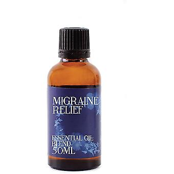 Candles mystic moments migraine relief essential oil blends 50ml