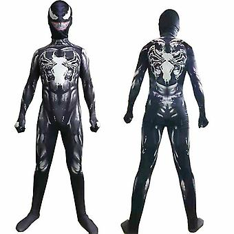 Enfants Venom Spider-man Superhero Boys Cosplay Costume Jumpsuit Fancy