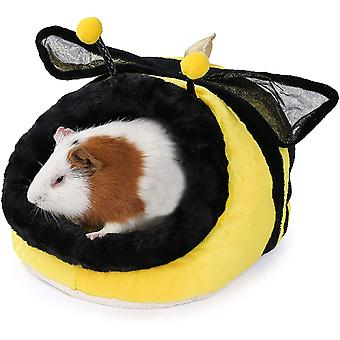 Mignon en forme d'abeille Habitat de petit animal