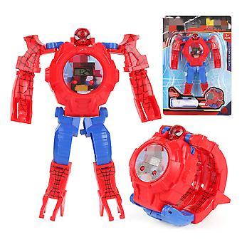 Transformation Spielzeuguhr Digital Marvel Avengers Kinder
