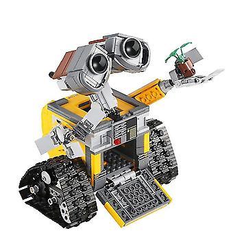 Venalisa Disney Movie The Idea Robot 687pcs Wall E Building Blocks High Tech Figures Wall E Model Diy