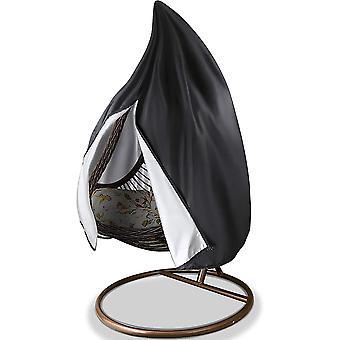 Patio Hanging Chair Cover, Waterproof Oxford Garden Swing 190x115cm