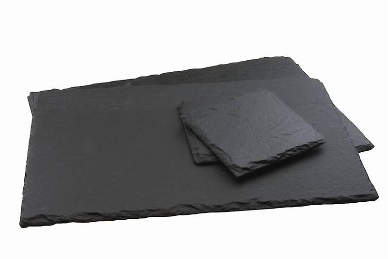 Slate Placemat and Coaster Set