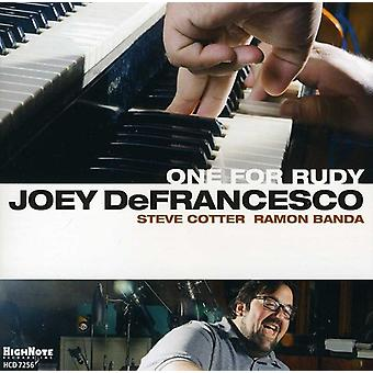 Joey Defrancesco - One for Rudy [CD] USA import