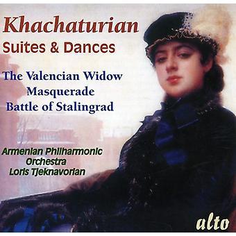 A. Jachaturián - Khachaturian: Importación de USA de Suites y danzas [CD]