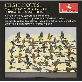 High Notes: More New Music for the Sopranino Saxop - High Notes: More New Music for Sopranino Saxophone [CD] USA import