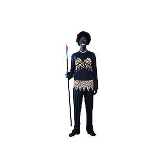 Cannibal costume Cannibal jungle Warrior costume ladies size M