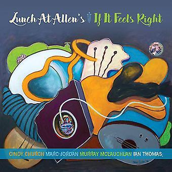 Déjeuner à Allen - importation USA si It Feels Right [CD]