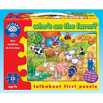 Orchard Toys Who's on the Farm? Puzzle