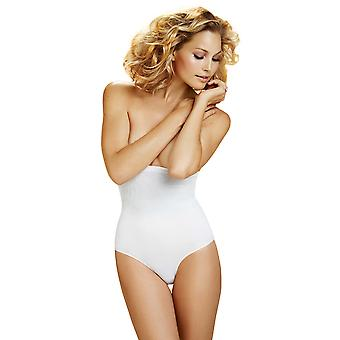 Womens Body Wrap Shapewear White Superior Derriere High-Waist Panty 49510