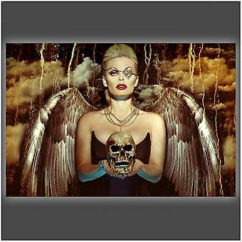 Engel van de dood Poster Poster Print by Daveed Benito