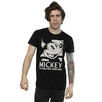 Mickey-Mouse berühmtesten Disney Herren T-Shirt