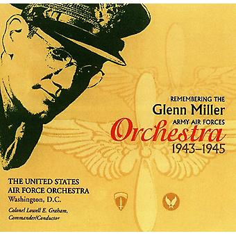 U.S. Air Force Orchestra - Remembering the Glenn Miller Army Air Corps Orches [CD] USA import