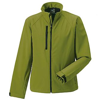 Russell Collection Mens Smart Weather Resistant Breathable Softshell jacket