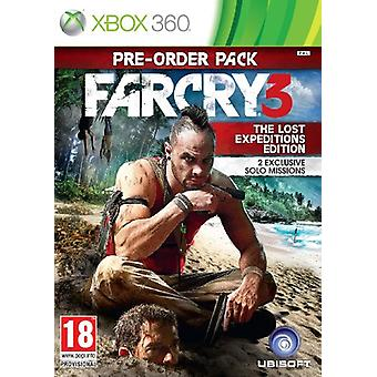 Far Cry 3-The Lost Expeditions Edition (Xbox 360)-nytt