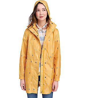 Joules Womens/Ladies Z Golightly Waterproof Packaway Long Rain Jacket