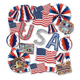USA Deko Kit - 22 Artikel