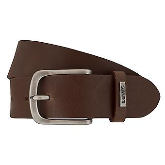 Cinturón de los pantalones vaqueros de Levi BB´s cinturones hombre cinturones cuero marrón 7206