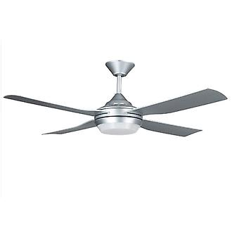 Moonah de ventilateur plafond LED argent 132cm/52