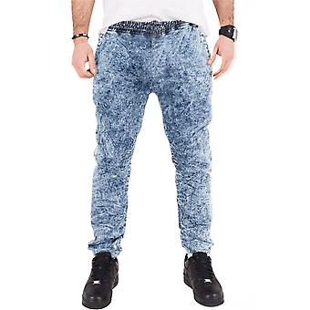 Urban classics men's sweatpants stretch denim