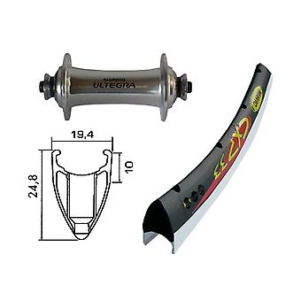Moto pièces 28″ roue Mavic CXP + Shimano Ultegra (QR)