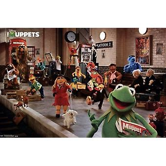 Muppets Most Wanted - platforma Poster Print