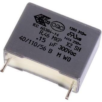 يؤدي كيميت R46KN410000N1K + 1 pc(s) MKP رقيقة مكثف شعاعي 1 µF 10% 22.5 مم