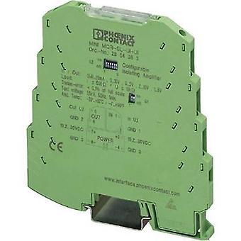 Phoenix kontakta 2864150 MINI MCR-SL-UI-UI-NC konfigurerbara 3-vägs-isolering förstärkare innehåll: 1 dator
