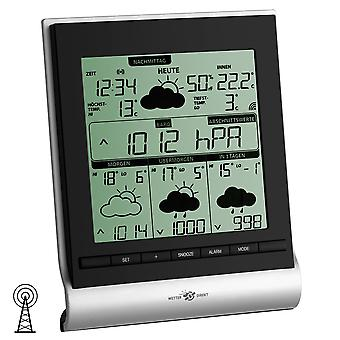 Weather station Radio satellitengestützt professional forecast room climate with batteries