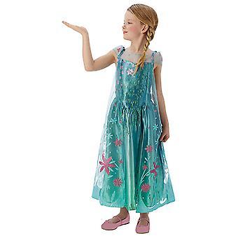 Elsa  Frozen Fever Dress Kleid mit Jacke Kinderkostüm
