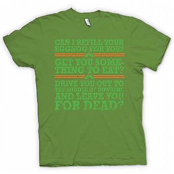 Kids T-shirt - Can I Refil Your Eggnog For You - Funny Christmas
