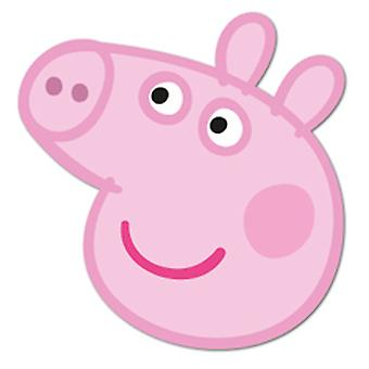 Peppa Pig Card Fancy Dress Mask