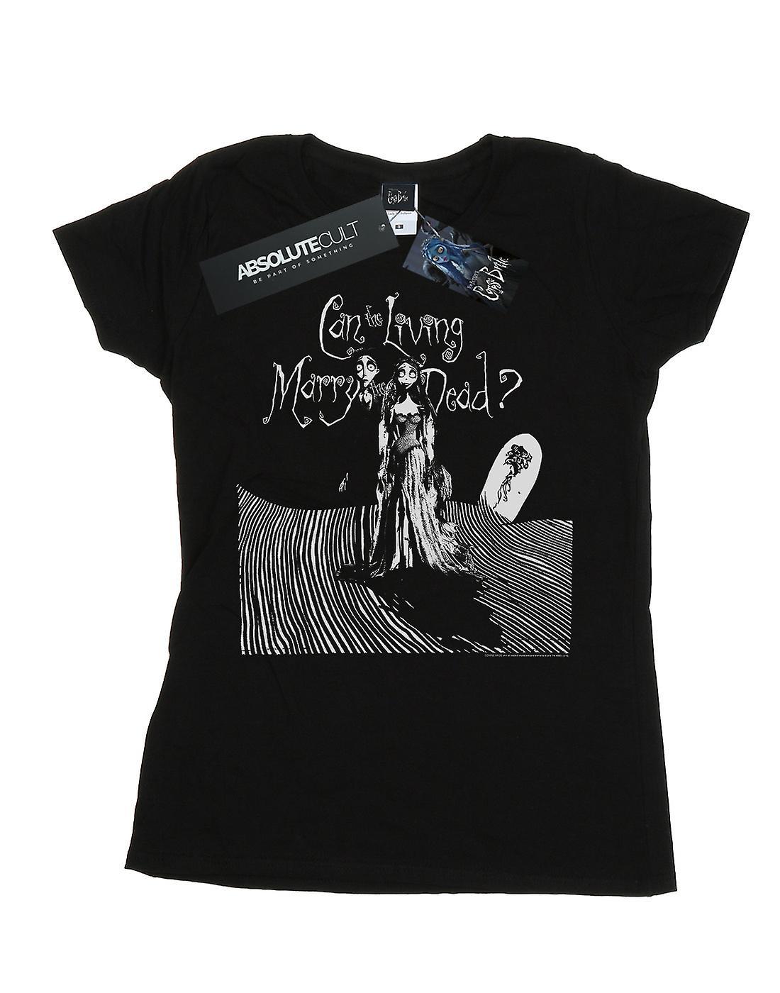 Corpse Bride Women's Marry The Dead T-Shirt