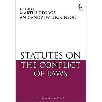 Statuten op het conflictenrecht