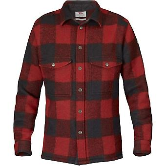 Fjallraven Canada Shirt - rode Check