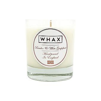 Amber & cognac handmade scented candle