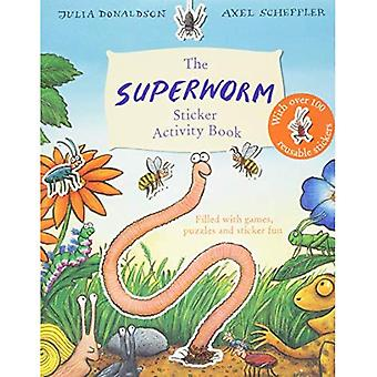 Superworm Sticker Activity Book