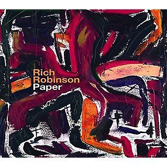 Rich Robinson - Paper [CD] USA import