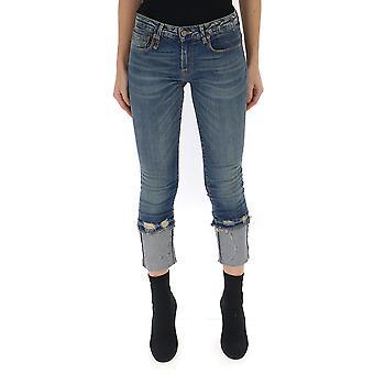 R13 R13w4034717 Women's Blue Denim Jeans
