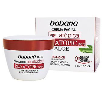Babaria Piel Atopica Aloe Vera Crema Facial 0% 50 Ml Unisex