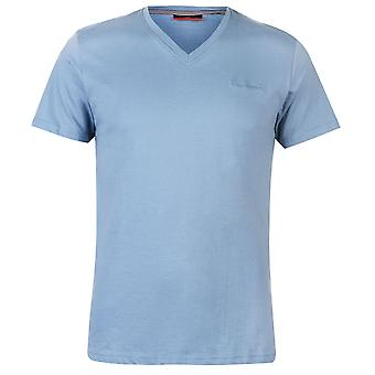 Pierre Cardin Mens V Neck T Shirt Short Sleeve Tee Top Clothing Wear