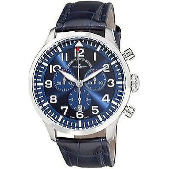 Zeno-horloge mens watch Navigator NG blauw chronograaf kwarts, 6569-5030Q-a4