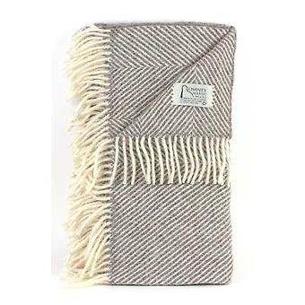 Romney Herringbone Marsh Fern Throw