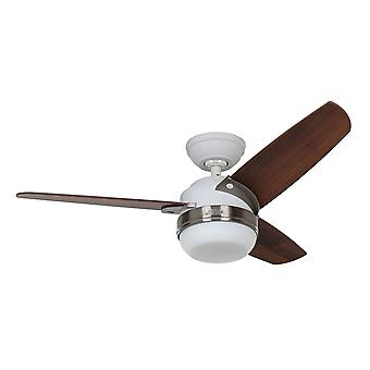 Ceiling fan Hunter Nova White with light 107cm / 42