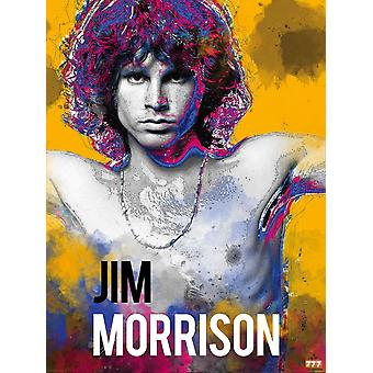 Jim Morrison Poster Music Wall Art Print (18x24)