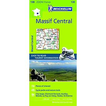 Massif Central Zoom Map 130 - 9782067212046 Book