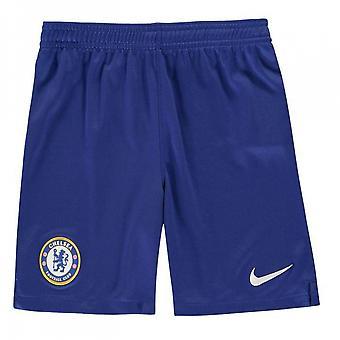 2019-2020 Chelsea Home Nike Football Shorts (Kids)