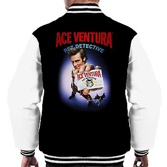 Ace Ventura Pet Detective ID Card Men's Varsity Jacket