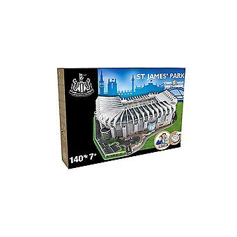Newcastle United St James Park 3D Stadium puslespil